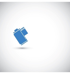 Film canister vector