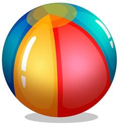 A beach ball vector