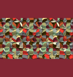 artistic geometric abstract background 3d vector image