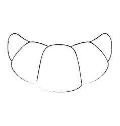 Croissant icon image vector