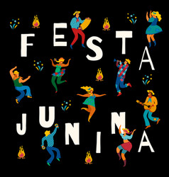 Festa junina template vector