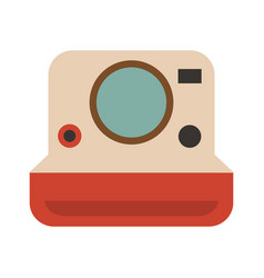 Photographic camera icon image vector
