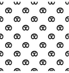 pretzel pattern seamless vector image