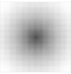 Halftone pattern background texture vector image