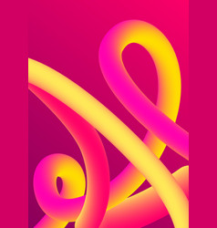 abstract 3d imitation vector image