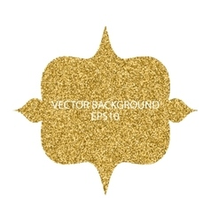 background with gold vector image