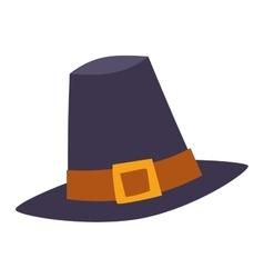 Broen hat beautiful vector image vector image