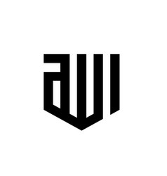 Allah name in black and white color vector