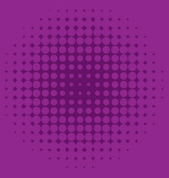 Background template design with purple dots vector