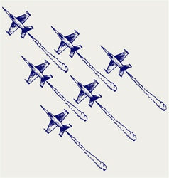 Demonstration squadron vector