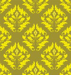 gold seamless background vector image