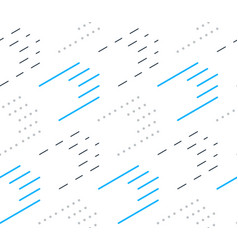 graphic minimalistic background black lines vector image