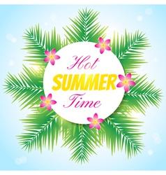 hot summer1 vector image