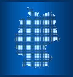 Matrix map map germany vector