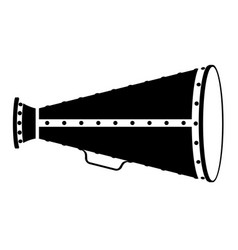 megaphone old retro vintage icon stock vector image