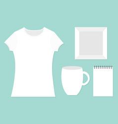 template for designers presentation branding vector image