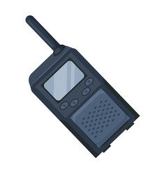 walkie-talkiepaintball single icon in cartoon vector image