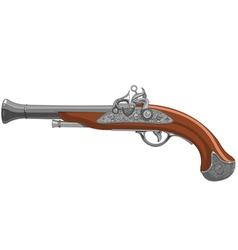 Pirate Gun vector image vector image