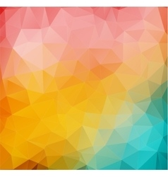 Abstract 2d mulicolor composition with angular vector