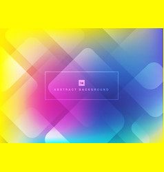 abstract geometric square shape overlapping vector image