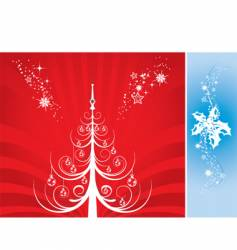 Background snow vector