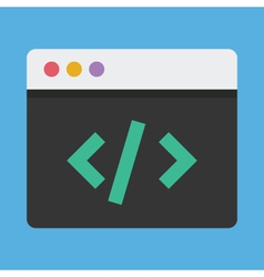 Coding Icon vector