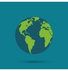Planet design gobal and world concept vector