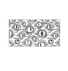 rectangular composition many eyes in a frame vector image