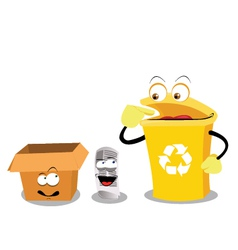 Recycling paper vector