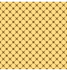 Star brown seamless pattern vector image