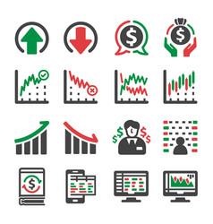 Stock icon vector