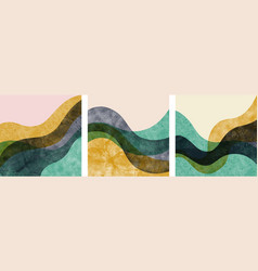 Abstract contemporary aesthetic background vector