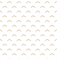 abstract white and gold seamless pattern vector image