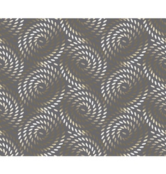 bronze glitter rice seamless pattern festive metal vector image
