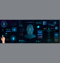 Hi-tech biometric identification vector