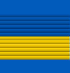 National flag ukraine for independence day vector