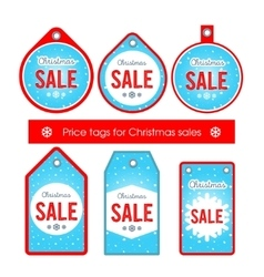 Set creative tags and stickers with vector image