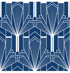 abstract geometric blue pattern with lines vector image