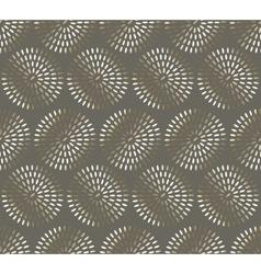 Bronze glitter rice seamless pattern festive metal vector