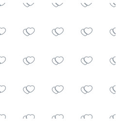 cookies icon pattern seamless white background vector image
