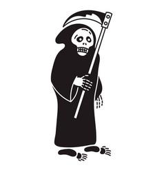 Death with scyicon simple style vector