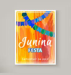 festa junina holiday vector image