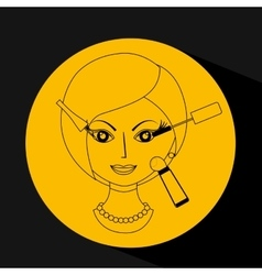 make-up product design vector image