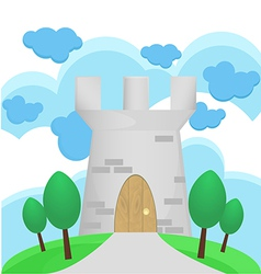 Medievel Tower vector image