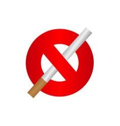 No smoking template design vector
