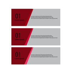 Set of abstract design templates vector