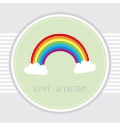 Wednesday card1 vector