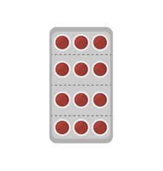 Medical pills pharmacy icon vector