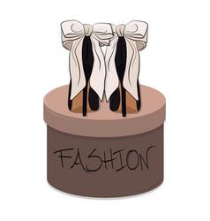 high heels stiletto sexy vector image vector image