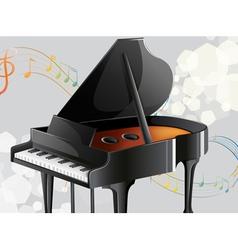 A musical instrument vector